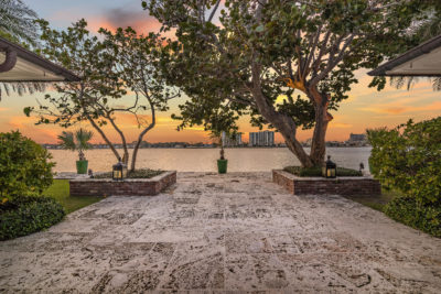 555 Island Drive palm beach waterfront view
